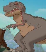 Red Claw Dinosaur