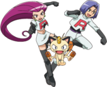 Team Rocket trio XY