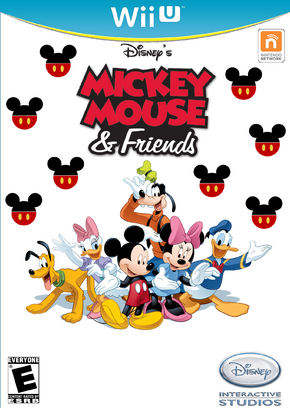 Disney's Mickey Mouse and Friends Video Game Boxart