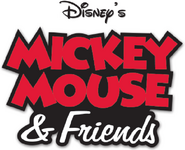 Disney's Mickey Mouse and Friends Video Game Logo