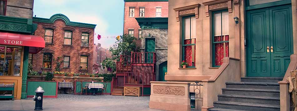 Sesame Street Is The Titular Where Central Characters Live On Officially Located In New York City As Often Confirmed By