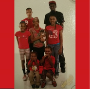 2012 picture of me, my siblings, and my cousins