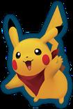 Pikachu ( Pokémon Mundo Misterioso Portales al infinito version )