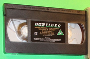 Wallace and Gromit - A Grand Day Out (UK VHS 1993) Cassette with National Captioning