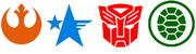 Legendary Universes Logos