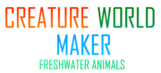 Creature World Maker Freshwater Animals Logo