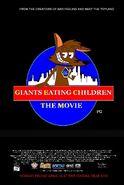 Giants Eating Children The Movie UK Poster