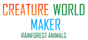 Creature World Maker Rainforest Animals Logo