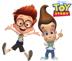 BQ2008's Toy Story Fans - Sherman Peabody and Jimmy Neutron