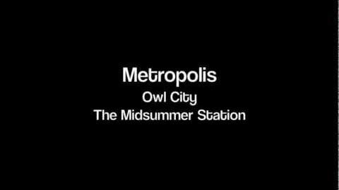 Owl City - Metropolis