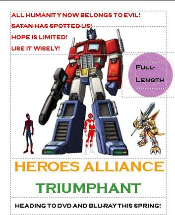 Heroes Alliance Triumphant Poster