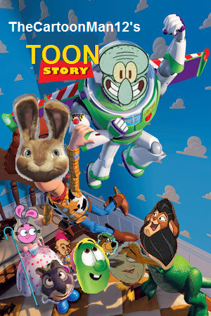 Toon story thecartoonman12 style poster