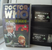 Doctor Who - The Green Death starring Jon Pertwee BBC Double VHS Video