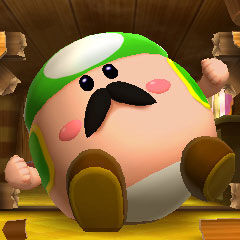 <b>Dad Toad after being turned into a Blorb</b>