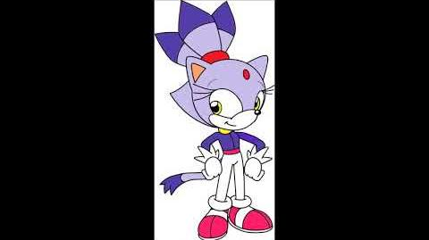 Adventures Of Sonic The Hedgehog Video Game - Blaze The Cat Voice