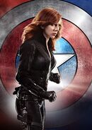 Black Widow Textless Poster CACW