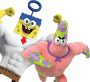 Spongebob patrick cgi heroes