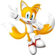 Sonic and friends miles tails prower