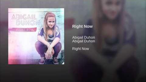 Right Now (Abigail Duhon song)