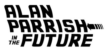 Alan parrish in the future logo