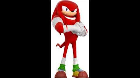 Sonic Boom Video Game - Knuckles The Echidna Voice