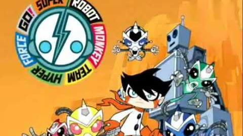 Super Robot Monkey Team Hyper Force Go! Opening