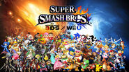 Super smash bros wii u 3ds wallpaper updated by captainpenguin98-d7zy4ia