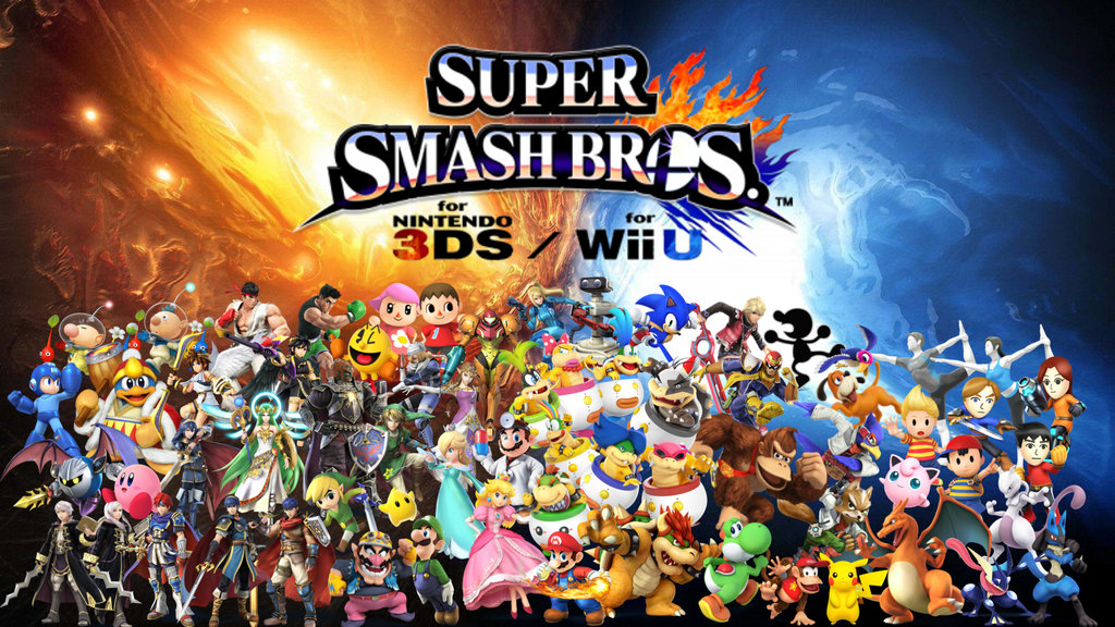 Super Smash Bros Wii U 3ds Wallpaper Updated By Captainpenguin98 D7zy4ia