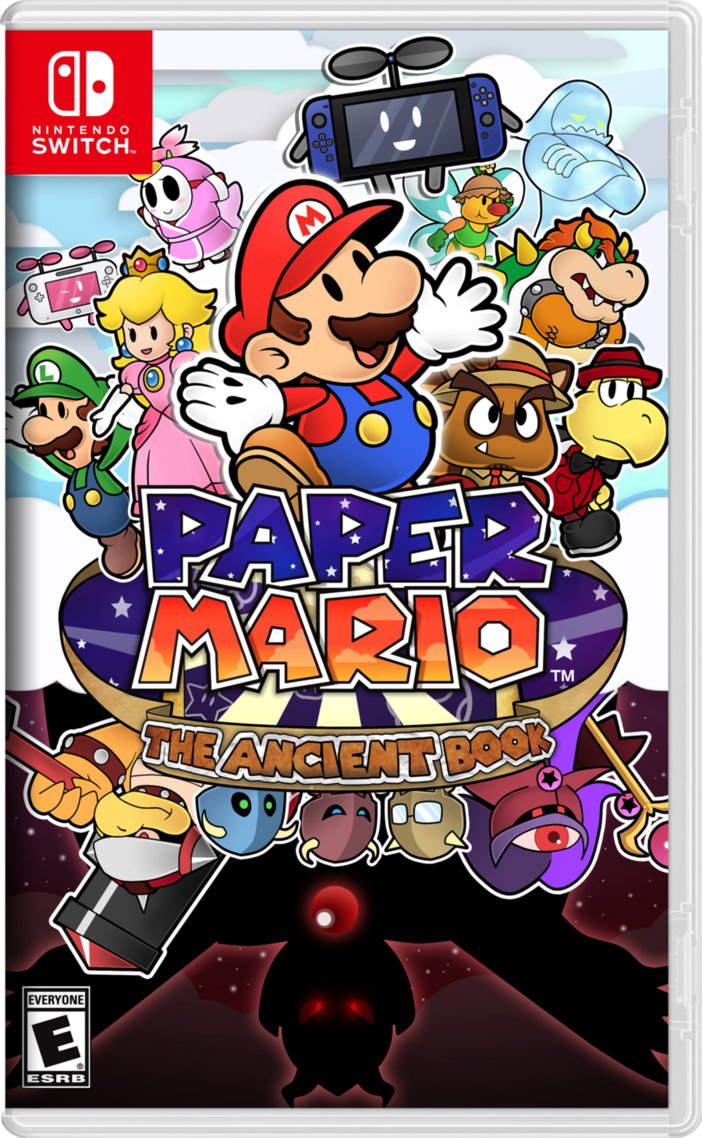 paper mario  the ancient book