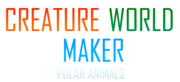 Creature World Maker Polar Animals Logo