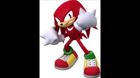 Mario & Sonic at the Olympic Games 2 - Knuckles The Echidna Voice Sound
