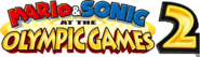 Mario & Sonic at the Olympic Games 2 Logo