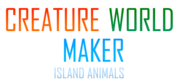 Creature World Maker Island Animals Logo
