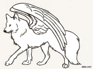 Mikasa the Winged Wolf