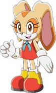 Sonic series cream 2D