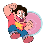 Steven with Shield