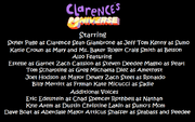 The Cast of Clarence's Universe