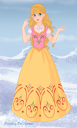 Amber as a nordic princess by princessahagen-d85mu8r