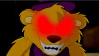 Nightmare Fredbear evil smike