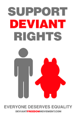 Pro-deviant poster