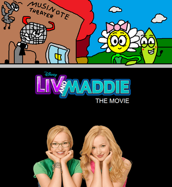 Liv and Maddie The Movie poster