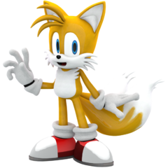 Tails the Fox as Wizzle