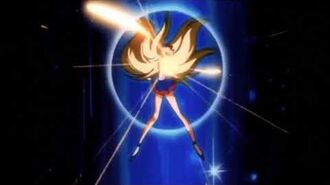 Venus Crescent Beam Codename Sailor V Smash! English Dub Attack