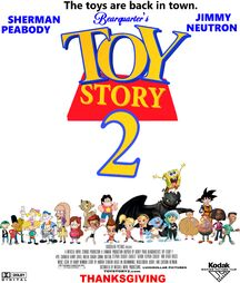 Bearquarter's Toy Story 2 Movie Poster
