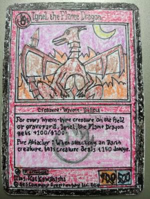 Kessenju - Ignel, the Flame Dragon (Base Set)