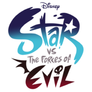 Star vs the forces of evil logo by star butterfly-d8sh3ju