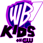WB Kids on The CW logo (Flat variant)