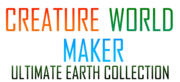 Creature World Maker Ultimate Earth Collection Logo