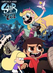 Dipcifica and Star vs. the Forces of Evil poster