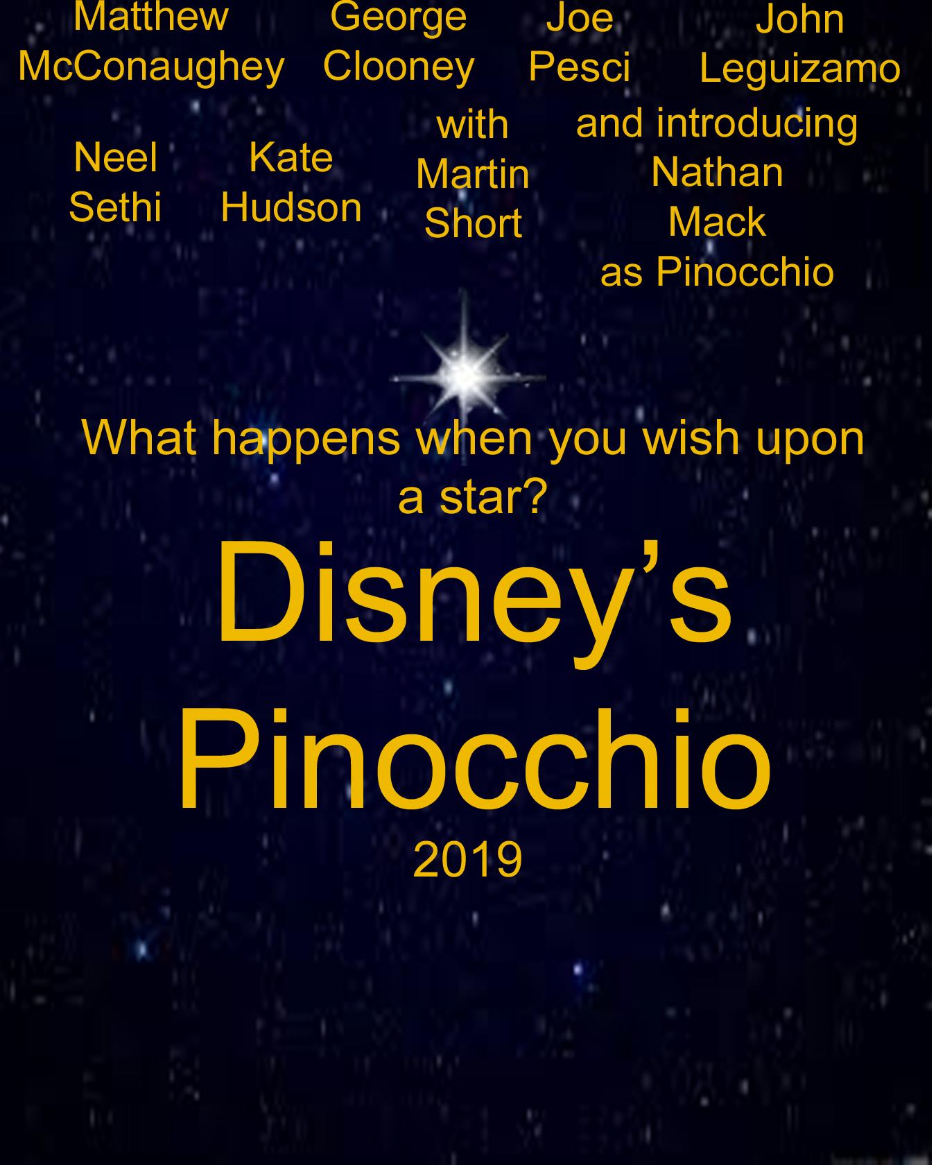 pinocchio  live action remake 2019